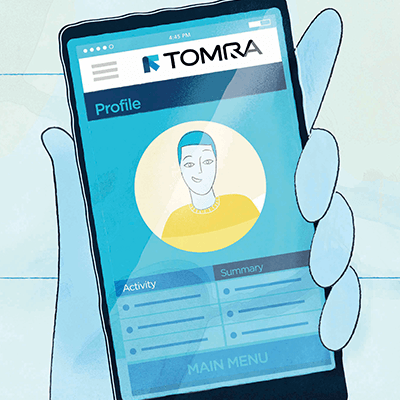 TOMRA Connect Klantenbinding